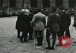 Image of military ceremony Paris France, 1918, second 37 stock footage video 65675021957