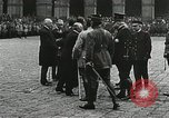 Image of military ceremony Paris France, 1918, second 38 stock footage video 65675021957