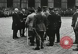 Image of military ceremony Paris France, 1918, second 39 stock footage video 65675021957