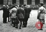 Image of military ceremony Paris France, 1918, second 40 stock footage video 65675021957