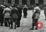 Image of military ceremony Paris France, 1918, second 41 stock footage video 65675021957