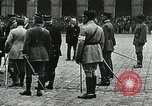 Image of military ceremony Paris France, 1918, second 42 stock footage video 65675021957