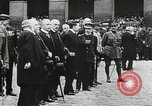 Image of military ceremony Paris France, 1918, second 49 stock footage video 65675021957