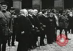 Image of military ceremony Paris France, 1918, second 50 stock footage video 65675021957