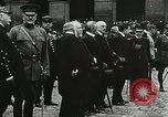 Image of military ceremony Paris France, 1918, second 52 stock footage video 65675021957