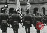 Image of military ceremony Paris France, 1918, second 56 stock footage video 65675021957