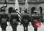 Image of military ceremony Paris France, 1918, second 57 stock footage video 65675021957