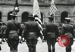 Image of military ceremony Paris France, 1918, second 58 stock footage video 65675021957