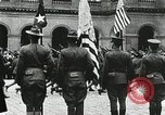 Image of military ceremony Paris France, 1918, second 59 stock footage video 65675021957