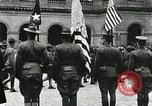 Image of military ceremony Paris France, 1918, second 60 stock footage video 65675021957