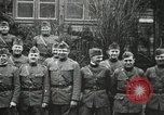 Image of United States officers France, 1918, second 14 stock footage video 65675021961