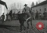 Image of United States troops rodeo France, 1918, second 40 stock footage video 65675021964