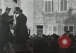 Image of Baptism rite France, 1918, second 7 stock footage video 65675021970