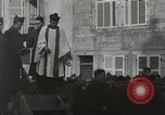 Image of Baptism rite France, 1918, second 36 stock footage video 65675021970