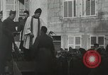 Image of Baptism rite France, 1918, second 39 stock footage video 65675021970