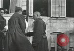 Image of Baptism rite France, 1918, second 56 stock footage video 65675021970