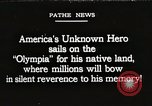 Image of American Unknown Soldier honored in France and transported to America France, 1921, second 1 stock footage video 65675021987