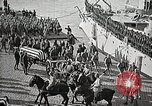 Image of American Unknown Soldier honored in France and transported to America France, 1921, second 34 stock footage video 65675021987