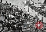 Image of American Unknown Soldier honored in France and transported to America France, 1921, second 36 stock footage video 65675021987