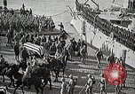 Image of American Unknown Soldier honored in France and transported to America France, 1921, second 37 stock footage video 65675021987