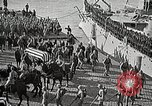 Image of American Unknown Soldier honored in France and transported to America France, 1921, second 38 stock footage video 65675021987