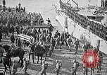 Image of American Unknown Soldier honored in France and transported to America France, 1921, second 39 stock footage video 65675021987