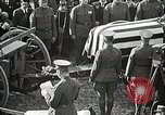 Image of American Unknown Soldier honored in France and transported to America France, 1921, second 49 stock footage video 65675021987