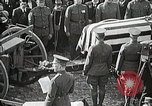 Image of American Unknown Soldier honored in France and transported to America France, 1921, second 51 stock footage video 65675021987