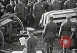 Image of American Unknown Soldier honored in France and transported to America France, 1921, second 54 stock footage video 65675021987