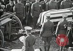 Image of American Unknown Soldier honored in France and transported to America France, 1921, second 55 stock footage video 65675021987
