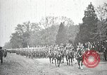 Image of Unknown Soldier of World War 1 arrives at Arlington National Cemetery Arlington Virginia USA, 1921, second 6 stock footage video 65675021989