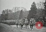 Image of Unknown Soldier of World War 1 arrives at Arlington National Cemetery Arlington Virginia USA, 1921, second 7 stock footage video 65675021989