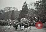 Image of Unknown Soldier of World War 1 arrives at Arlington National Cemetery Arlington Virginia USA, 1921, second 9 stock footage video 65675021989