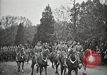 Image of Unknown Soldier of World War 1 arrives at Arlington National Cemetery Arlington Virginia USA, 1921, second 12 stock footage video 65675021989