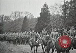 Image of Unknown Soldier of World War 1 arrives at Arlington National Cemetery Arlington Virginia USA, 1921, second 13 stock footage video 65675021989