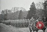 Image of Unknown Soldier of World War 1 arrives at Arlington National Cemetery Arlington Virginia USA, 1921, second 15 stock footage video 65675021989