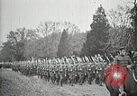 Image of Unknown Soldier of World War 1 arrives at Arlington National Cemetery Arlington Virginia USA, 1921, second 16 stock footage video 65675021989