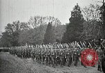 Image of Unknown Soldier of World War 1 arrives at Arlington National Cemetery Arlington Virginia USA, 1921, second 17 stock footage video 65675021989