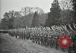 Image of Unknown Soldier of World War 1 arrives at Arlington National Cemetery Arlington Virginia USA, 1921, second 22 stock footage video 65675021989