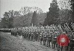 Image of Unknown Soldier of World War 1 arrives at Arlington National Cemetery Arlington Virginia USA, 1921, second 26 stock footage video 65675021989