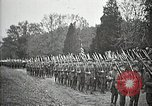 Image of Unknown Soldier of World War 1 arrives at Arlington National Cemetery Arlington Virginia USA, 1921, second 30 stock footage video 65675021989