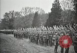 Image of Unknown Soldier of World War 1 arrives at Arlington National Cemetery Arlington Virginia USA, 1921, second 31 stock footage video 65675021989