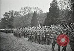 Image of Unknown Soldier of World War 1 arrives at Arlington National Cemetery Arlington Virginia USA, 1921, second 32 stock footage video 65675021989
