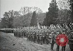 Image of Unknown Soldier of World War 1 arrives at Arlington National Cemetery Arlington Virginia USA, 1921, second 33 stock footage video 65675021989