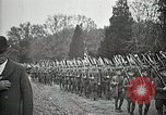 Image of Unknown Soldier of World War 1 arrives at Arlington National Cemetery Arlington Virginia USA, 1921, second 37 stock footage video 65675021989