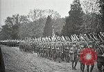 Image of Unknown Soldier of World War 1 arrives at Arlington National Cemetery Arlington Virginia USA, 1921, second 38 stock footage video 65675021989