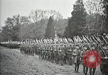 Image of Unknown Soldier of World War 1 arrives at Arlington National Cemetery Arlington Virginia USA, 1921, second 40 stock footage video 65675021989