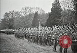 Image of Unknown Soldier of World War 1 arrives at Arlington National Cemetery Arlington Virginia USA, 1921, second 41 stock footage video 65675021989