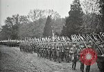 Image of Unknown Soldier of World War 1 arrives at Arlington National Cemetery Arlington Virginia USA, 1921, second 42 stock footage video 65675021989