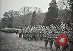 Image of Unknown Soldier of World War 1 arrives at Arlington National Cemetery Arlington Virginia USA, 1921, second 48 stock footage video 65675021989